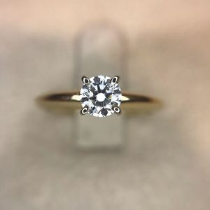 NWOT. Genuine .40ct Diamond Engagement Ring